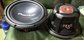 Par Pioneer 12 doble bobina nuevos 1400w 400rms original