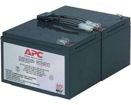 Cartucho de batería de recambio APC #6 RBC6 Para p/n SUA1000I / p/n SMT1000I
