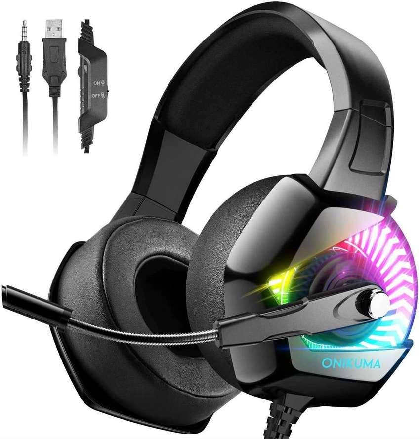 Diademas Auriculares Gamer Ps4/pc/xb Onikuma K6 Retroiluminación RGB