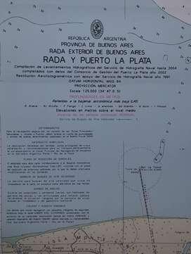 CARTA NÁUTICA PAPEL  H – 157