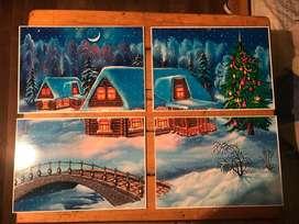 Cuadros para la decoracin de navidad