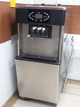 Maquina de helado blando