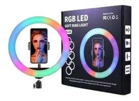 Aro de luz RGB