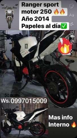 Moto Ranger Sport Motor 250 DE OFERTA