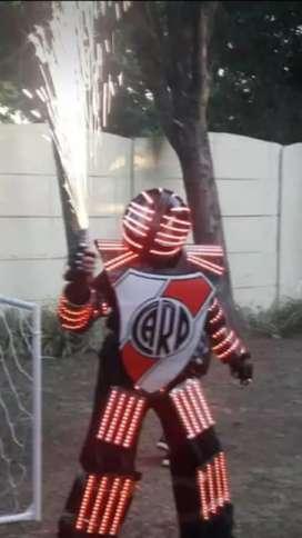 Unico robot led futbolero!!