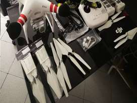Dron Phanton 3 Estandar Dji Accesorios Y Maleta Excelente