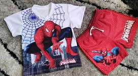 Conjunto Niño Spiderman