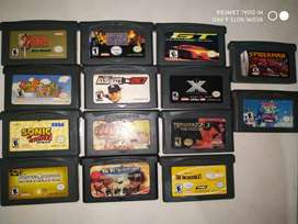 Jueguitos originales game boy advance