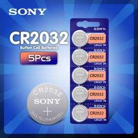 PILAS Bateria De Litio Sony Original Cr 2032 3v Sellada X5