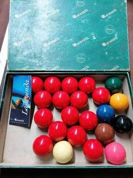 Juego de Bolas Aramith Premier Snooker