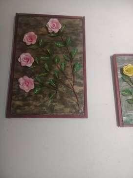 Se venden hermosos cuadros a 40.000 y 25.000