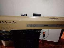 Barra de sonido LG con control  100 wollt