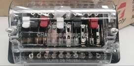 Bornera de conexión y pruebas tipo cuchilla 20A 600V 2.5KV