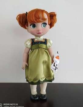 Muñecas Frozen  Animators Disney Original    $80.000Unidad
