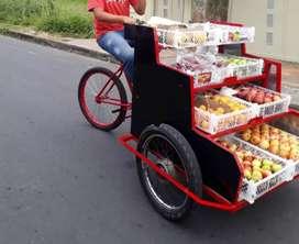 Triciclo y tricicleta