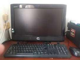 Computador de mesa marca compac