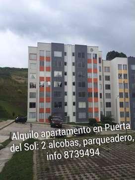 Alquilo apartamento Puerta del Sol Manizales