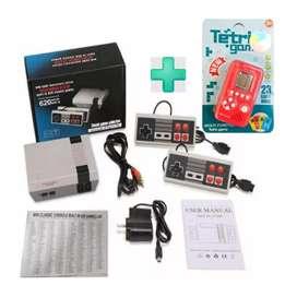 Consola mini Nintendo NES 620 juegos 2 controles