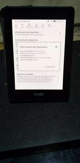 E-reader Amazon Kindle Paperwhite última generación 8 GB