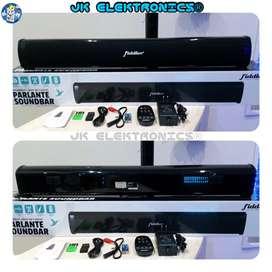 Parlante Soundbar Fiddler 10W*2 DC 15V 3A, Radio Fm, Usb, Sd, Bluetooth, Auxiliar