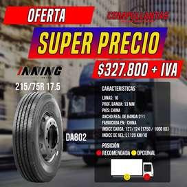 Llanta Nueva 215/75R17.5 Inning DA802