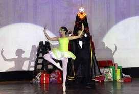 Se dictan clases de pre-ballet ,ballet y contemporaneo/jazz