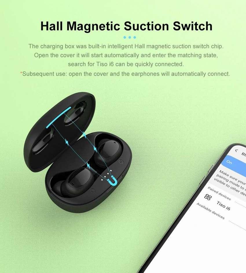 Audifono TWS Inalambrico Bluetooth Par ORIGINAL con Base de Carga - 0333 0