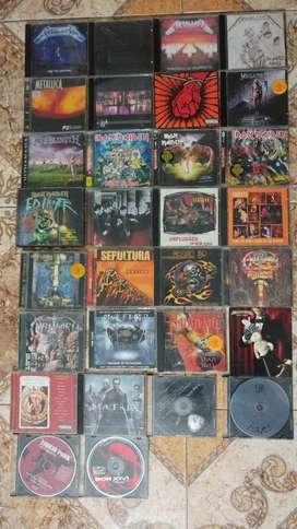 Cds Rock 30 trabajos discográficos en total