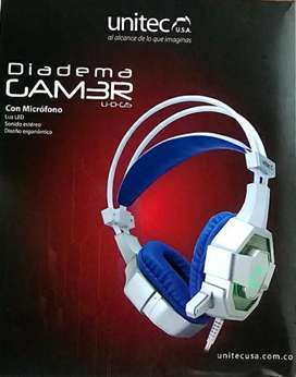 Diadema gamer PC