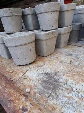 Macetitas de cemento n6 ideal souvenir