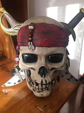 Disney Piratas del Caribe - Calavera hablante
