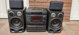 Equipo de sonido aiwa clásico nsx999