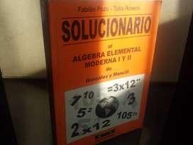 Solucionario Algebra Elemental Moderna 1 Y 2 Mancill