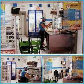 Se vende negocio de pizzeria muy buen punto