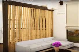 Techos, decks, palillerias, protección solar decoración en guadua y bambú.