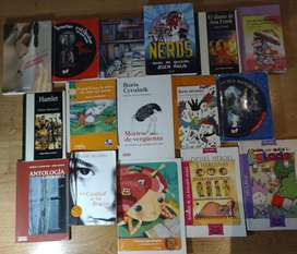 Lote de 36 Libros y cuentos usados