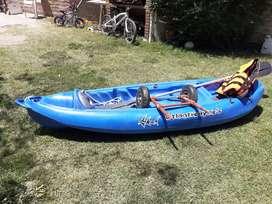 Usado, Kayak k1 con remo segunda mano  Bahía Blanca, Buenos Aires