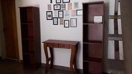 Mesa Y Repisas Estantes Recibidores