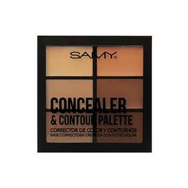 PALETA DE CORRECTORES DE COLOR Y CONTORNOS MEDIUM DARK