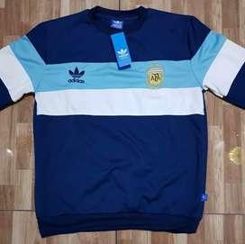 Buzo Retro tricolor Argentina