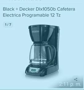 Cafetera electrica digital programable
