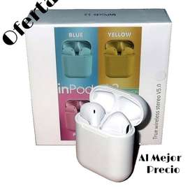 Auriculares Inalámbricos i12 Bluetooth Manos Libres