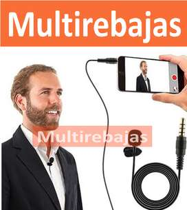 Micrófono Solapa Corbatero