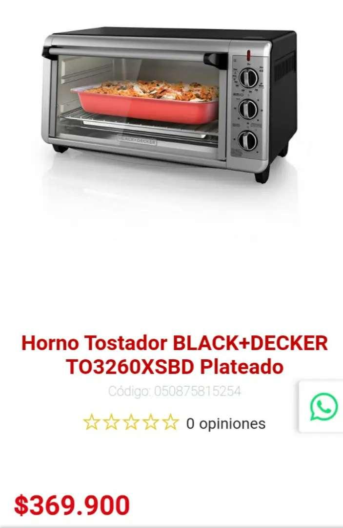 Horno tostador black+decker