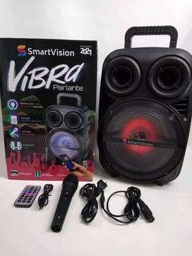 Cabina vibra de Smartvision de 8 pulgadas