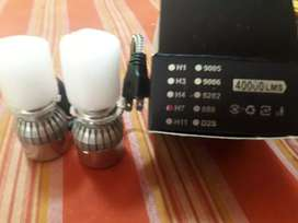 Vendo kit de 2 luces bajas Cree led h7 para peugeot 207. Color de luz, blanco