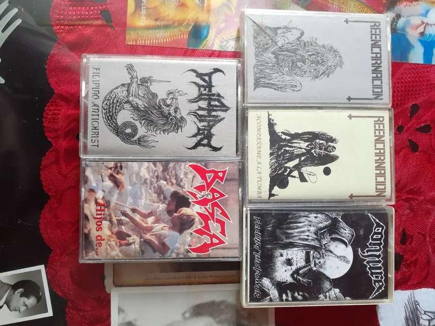 Cassettes Rock y Metal 0