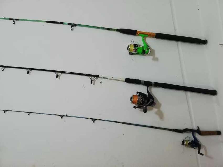 Equipos  de pescar completas o por unidad 0