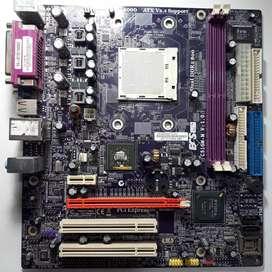 Motherboard c51gm-m, a reparar o repuestos, centro Cordoba