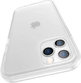 Meifigno Carcasa compatible con iPhone 12 Pro Max, translúcido mate PC con bordes suaves, diseñada para iPhone 12 Pro Ma